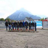 Spatenstich für Wohnbau in Bludenz Brunnenfeld