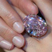 71 Millionen Dollar für Diamanten Pink Star