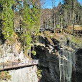 Wanderweg bei Rappenloch nun offen