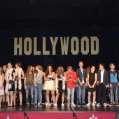 Schüler holten Hollywood in den Dorfsaal in Au