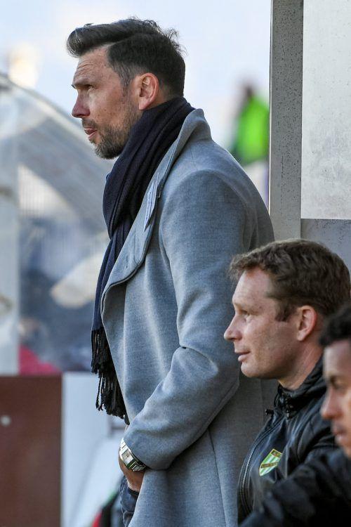 Die Augen nach vorne gerichtet: Austria-Trainer Andreas Lipa (links) und sein wahrscheinlicher Kotrainer Daniel Ernemann. Foto: gepa
