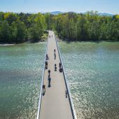 Radbrücke Hard-Bregenz wird saniert