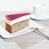 Feine Himbeer-Mohn-Torte