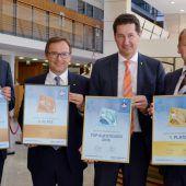 Auszeichnungen für Vorarlbergs Sparkassen