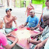 Domino ist in Kuba beliebt