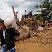 Kolumbiens Präsident verspricht rasche Hilfe