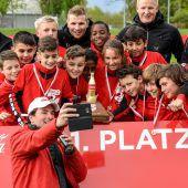 Rankweils Nachwuchs gewinnt Coca-Cola-Cup