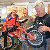 Fahrrad-Aktion für Bedürftige gestartet