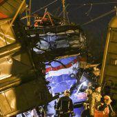 Dutzende Verletzte bei Zugunglück in Moskau