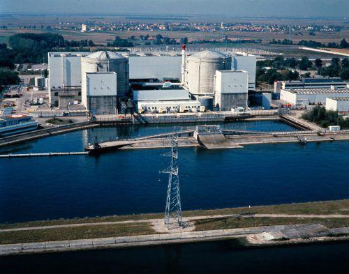 Fessenheim ging 1977 ans Netz. In dem Atomkraftwerk gibt es immer wieder Pannen und Zwischenfälle. Foto: AFP