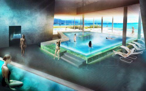 Am See wird eine Thermen-Anlage entstehen.Foto: Schauer & CO