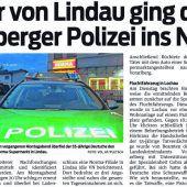 Roland Mock (82) entdeckte in Lochau das gestohlene Fluchtfahrzeug eines deutschen Räubers.