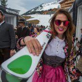 Alles Dirndl beim ganz besonderen Skitag in Lech