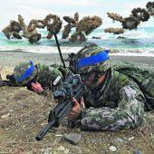 Manöver mit US-Militär in Südkorea