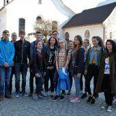Russischer Besuch am BG Bludenz