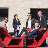 Designermöbel für das Rankweiler Zentrum