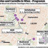 Charles und Camilla zu Besuch beim Papst