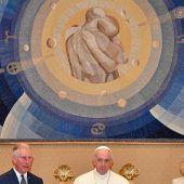 Papst empfing Charles und Camilla