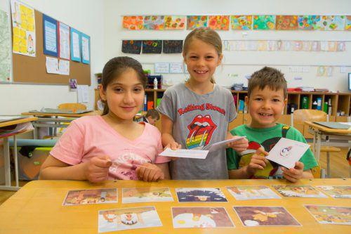 Im Vorjahr wurden 85 Projekte im Rahmen des Lesetages eingereicht, mit dabei war auch die Volksschule Unterfeld in Lauterach. VN