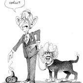 Prinz Charles mit Rottweiler!