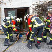 Zimmerbrand in Alberschwende