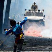 Krawalle bei Protesten in Venezuela