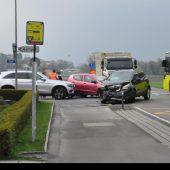 Fünf Unfälle in zwei Tagen