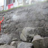 Ufermauern der Dornbirner Ache werden weiter saniert
