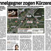 Zum Problemfall Stadttunnel Feldkirch