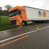 Lastwagen auf Abwegen sorgte für stundenlangen Stau