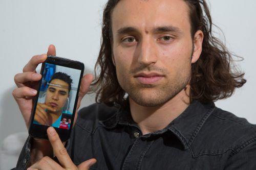 Frederic Wüstner spricht regelmäßig mit Jawed, der mittlerweile in Kabul lebt. Verabschieden konnten sie sich nicht mehr. Foto: VN/Hofmeister