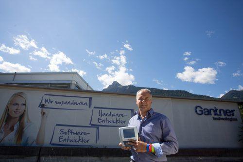 Gantner-Geschäftsführer Elmar Hartmann. Foto: VN/Hartinger