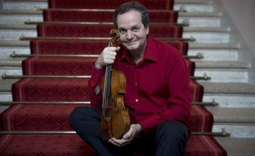 Geiger Christian Altenberger startete erst eine Solokarriere, Auftritte mit namhaften Orchestern begründeten seinen ausgezeichneten Ruf. foto: Christian altenburger/nancy horowitz