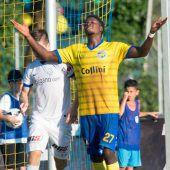 Der VfB schockt Grödig und bejubelt Boakye