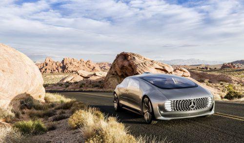 Google erhielt als dreißigstes Unternehmen in Kalifornien die Zulassung zum Test selbstfahrender Autos.  Foto: APA
