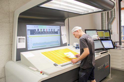 Zahlreiche Unternehmen aller Branchen (im Bild: Offset Schwarzach) machen sich zur Freude der IT-Branche digital fit.  Foto: Firma