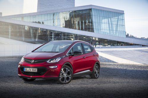 Der Opel Ampera-e, überzeugt mit theoretisch 520 Kilometern Reichweite.
