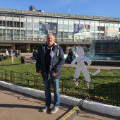 Mein Tag bei der Eishockey-WM VN-Sportredakteur Heimo Kofler