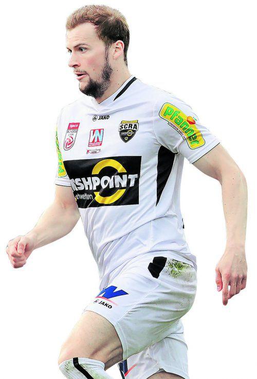 Jan Zwischenbrugger spielt weiter für Altach. Foto: gepa