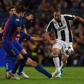 Kein zweites Wunder, Juve zu stark für Barça