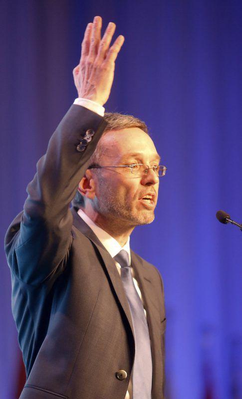 Kickl schließt eine blau-rote Koalition nicht aus. Foto: APA