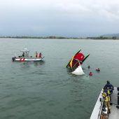 Seenotalarm: Boot kentert am Bodensee