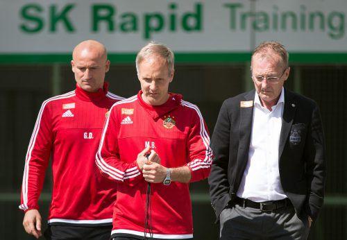 Fast zwei Jahre arbeitete Martin Bernhard bei ÖFB-Rekordmeister Rapid Wien.GEPA