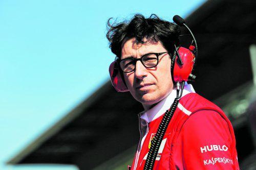 Mattia Binotto ist der Kopf hinter den Vettel-Erfolgen bei Ferrari. Foto: gepa