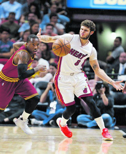Miamis Tyler Johnson spielte groß auf. Foto: ap