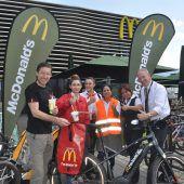 McDonalds Vorarlberg setzt auf E-Bikes