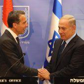 Netanjahu trifft Kern und streitet mit Gabriel
