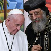 Papst als Botschafter des Friedens in Ägypten
