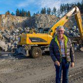 Kies und Beton sorgen für Kostendruck am Bau