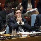 Giftgasangriff sorgt für Streit im Sicherheitsrat